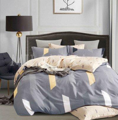 Миланика - Акция на ткани и подушки — КПБ Сатин - роскошные современные расцветки — Постельное белье