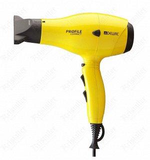 Профессиональный фен 2000 Вт Profile Compact DEWAL 03-119 Yellow