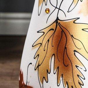 """Ваза напольная """"Осень"""" акрил. 58 см. микс. керамика"""