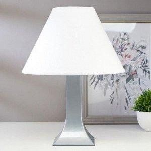 Лампа настольная 23204 1хЕ27 15Вт серый d=25 см. h=33 см