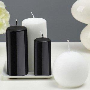 Набор свечей с подсвечником. 4 штуки