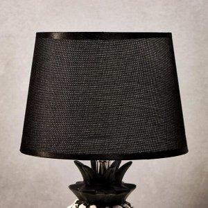 Лампа настольная 16172/1 Е14 40Вт бело-черный 22х22х36 см