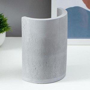 Настольная лампа 16247/1GR  Е27 60Вт серый 10х13.5х18 см
