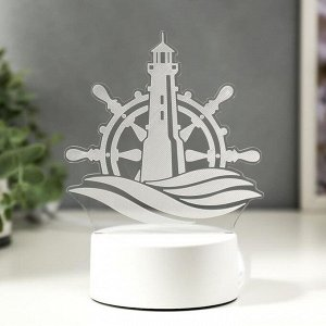 "Светильник ""Море"" LED RGB от сети 9.5х13х17 см"