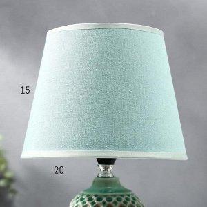 Лампа настольная 36656/1 E14 40Вт зеленый H33 см