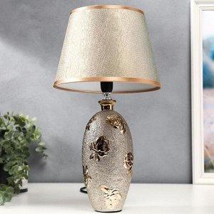 Лампа настольная 36658/1 E14 40Вт золото H40.5 см