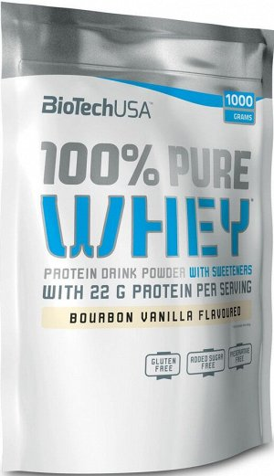 BioTech 100% Pure Whey - 28 грамм (1 порция)