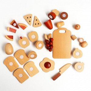 Игровой набор на липучке «Повар», 36 * 7 * 30 см