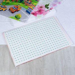 Ипликатор - коврик на мягкой подложке, 50 ? 75 см, 384 модуля, цвет МИКС