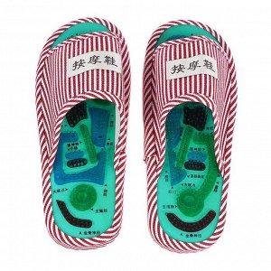 Массажер Tour Ma Line для ступней ног, тапочки, 35-38 размер. 1 пара