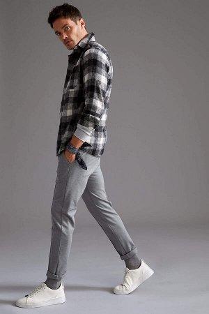 рубашка Размеры модели: рост: 1,87 грудь: 90 талия: 71 Надет размер: L  Хлопок 17%, Полиэстер 31%, Акрил 33%, Вискоз 19%