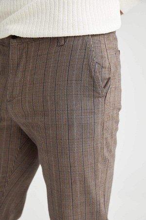 брюки Размеры модели: рост: 1,89 грудь: 100 талия: 81 бедра: 97 Надет размер: размер 30 - рост 32  Хлопок 100%