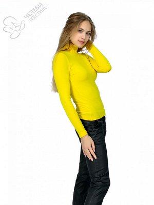 """Водолазка Водолазка женская с воротником - """"стойка"""" и длинным рукавом. Выполнена из гладкокрашенной ткани. Состав ткани: 95% вискоза 5% лайкра. Плотность — 330 г/м2 Водолазка женская однотонного цвета"""