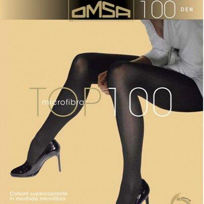 Колготки, чулки, носки от лучших мировых брендов — Omsa
