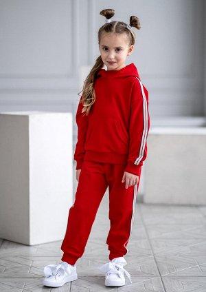Маранта костюм трикотажный красный
