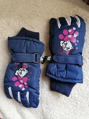Перчатки детские Синие