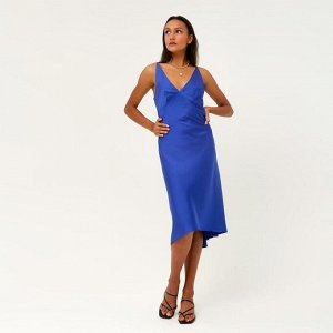 """Платье женское MINAKU """"Silk pleasure"""" цвет синий, р-р 42"""
