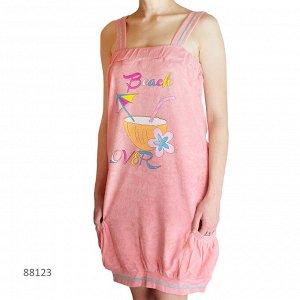 Сорочки для женщин (широкие бретельки/махро) 88123