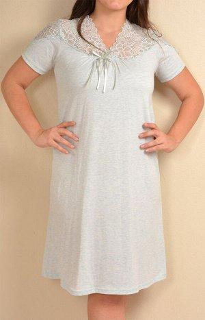 Сорочки для женщин большой размер(короткий рукав) 84734