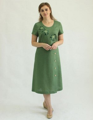 Платье Лён 100% (цвета в описании!!!)