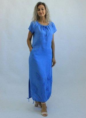 Платье Лен 100% (цвета в описании!!!)
