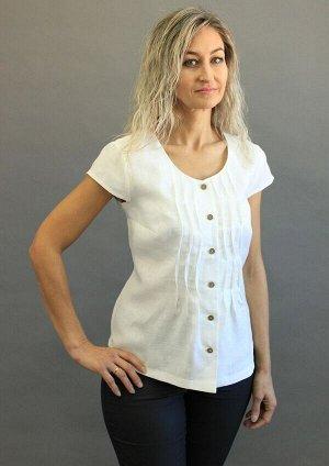 Блуза Лён 100% (цвета в описании!!!)