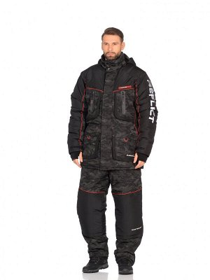 Костюм зимний Huntsman Siberia Reflect -45°С (48-50р/170-176, цв черный, тк. Reflex Membrane)