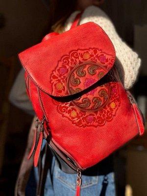 Рюкзак женский. Натуральная кожа
