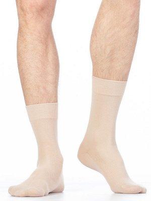 Классические летние эластичные мужские носки из хлопка (сеточка)