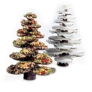 Набор форм для шоколада «Рождественская ёлка» из термоформированного пластика 20СТ01, Martellato, Италия