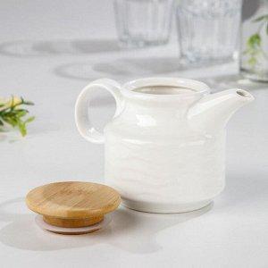 Чайник заварочный «Эстет. Волна», 250 мл, 14,5?9,5?9,5 см