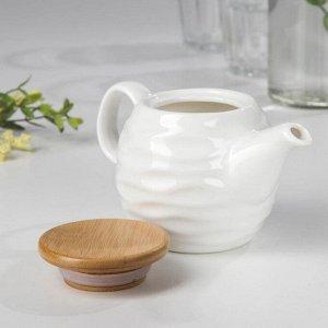 Чайник заварочный «Эстет. Волна», 250 мл, 16?8,5?8,5 см