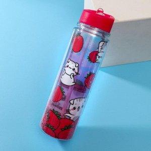 "Бутылка для воды ""I love you"", 550 мл"