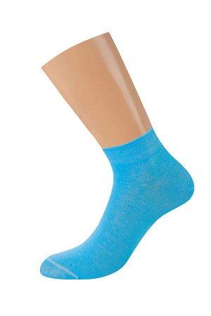 Всесезонные укороченные эластичные женские носки из хлопка с комфортной резинкой