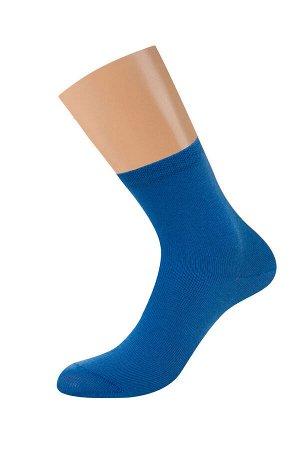 Женские однотонные классические носки из хлопка с эластаном