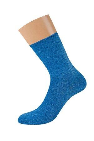 Всесезонные эластичные женские носки с меланжевым эффектом