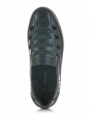 Туфли открытые TESORO, Черный