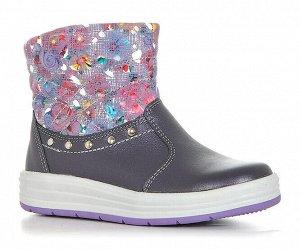 Ботинки ЛЕЛЬ, Фиолетовый