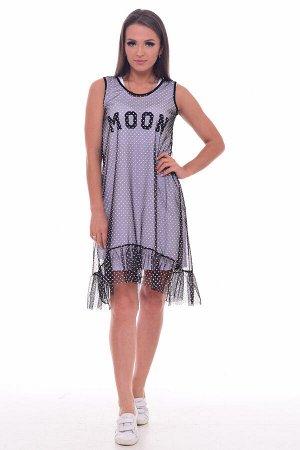 *Платье женское Ф-1-063в (белый)