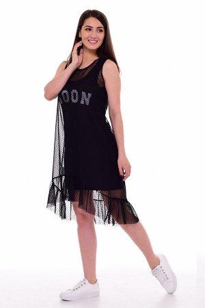 *Платье женское Ф-1-063 (черный)