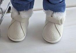 Ботинки с мехом для Паола Рейна и аналогичных кукол ростом 32-35 см