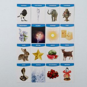 Обучающие логопедические карточки «Говорим буквы С и З», размер карточек 63 ? 87 мм