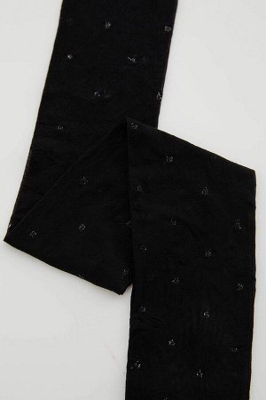 Носки Размеры модели:  рост: 1,78 грудь: 75 талия: 62 бедра: 89 Надет размер: L - XL Elastan 8%,Metal Elyaf 1%,Poliamid 91%