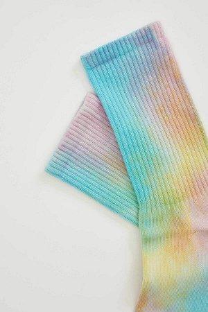 Носки Размеры модели:  рост: 1,75 грудь: 81 талия: 60 бедра: 88 Надет размер: STD  Хлопок 68%,Poliamid 8%,Elastan 4%, Полиэстер 20%