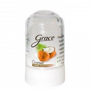 Grace. Кристаллический дезодорант Грейс,  Кокос, 70 гр