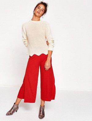 брюки - красные