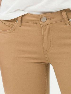 Брюки Slim Fit - Светло- коричневый