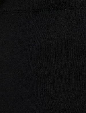 Леггинсы- черный