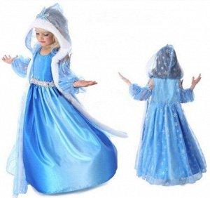 """Детское платье, голубое, """"Холодное сердце"""""""