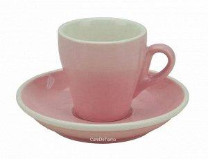"Посуда. Чашка с блюдцем, американо, 180 мл., ""TIAMO"", HG0851"